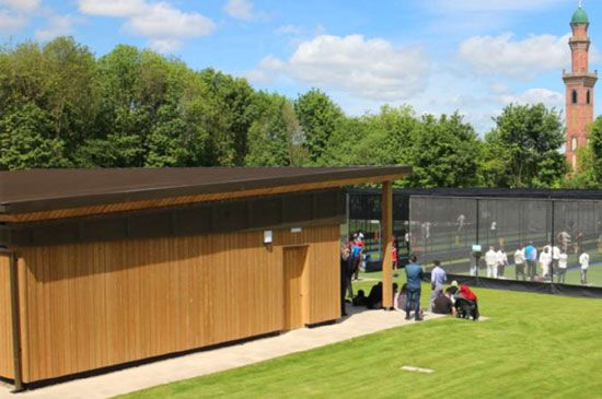 Bespoke Sports Pavillion & Cricket Nets